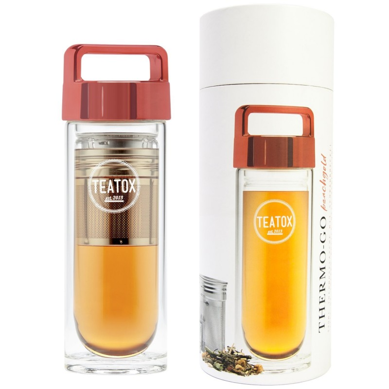 Teatox  Thermo-Go Bottle Peach Gold