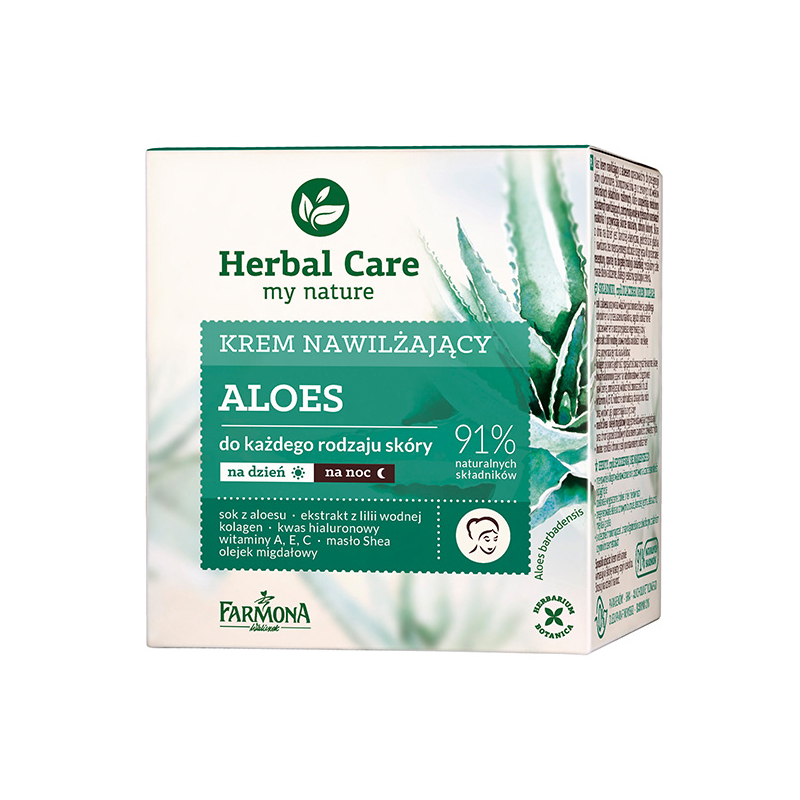 Herbal Care Aloe Moisturizing Cream