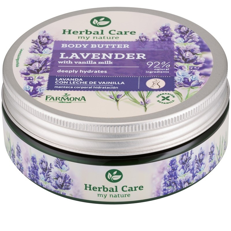 Herbal Care Lavender & Vanilla Milk Body Butter