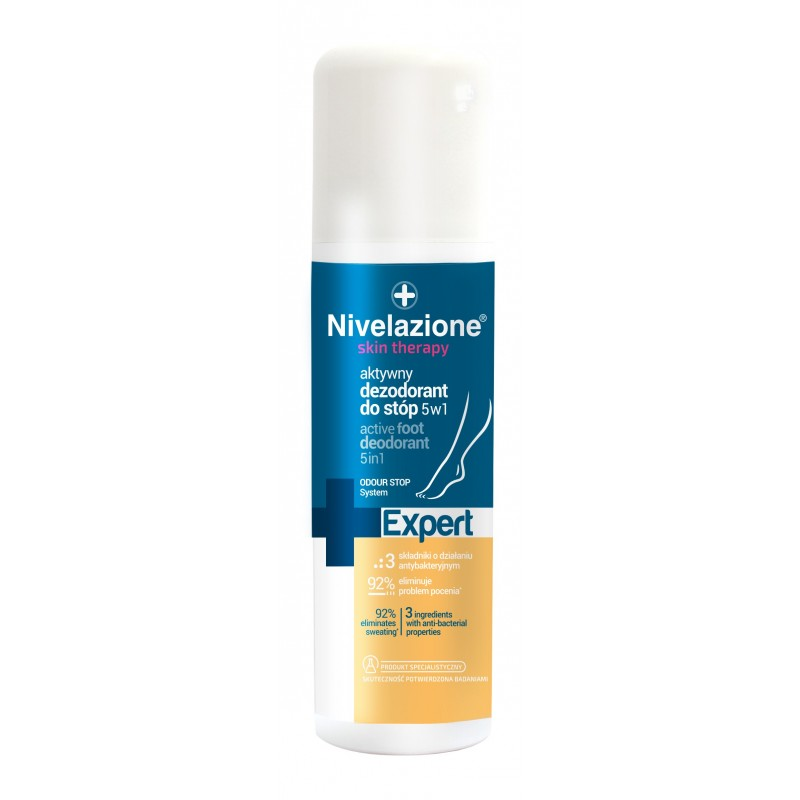 Nivelazione Skin Therapy Active Foot Deospray