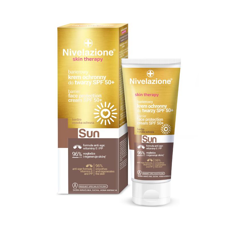 Nivelazione Skin Therapy Face Protection Cream SPF50+