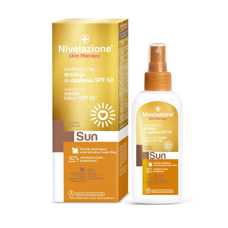 Nivelazione Skin Therapy Waterproof Suntan Lotion SPF50