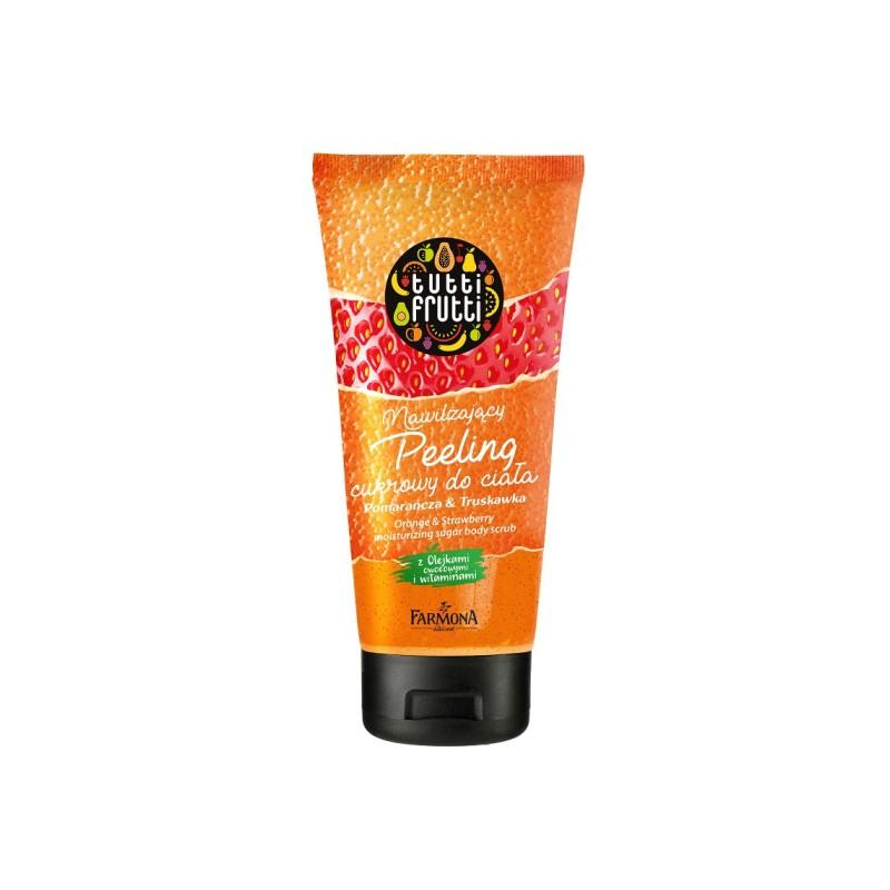 Tutti Frutti Orange & Strawberry Body Sugar Scrub