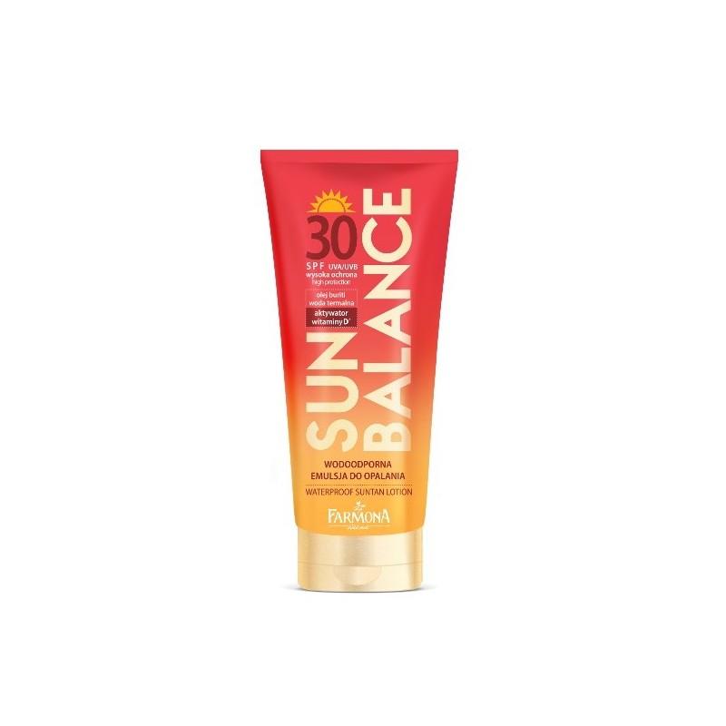 Sun Balance Waterproof Suntan Lotion SPF30