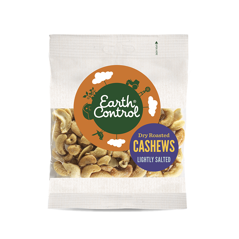 Earth Control Tørristede Cashewnødder