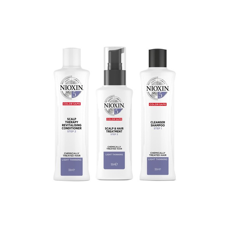 Nioxin Starter Set System 5 For Frizzy Untreated Hair