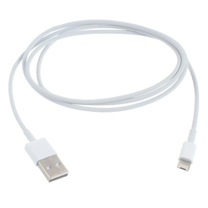 BasicsMobile Lightning & USB Cable White