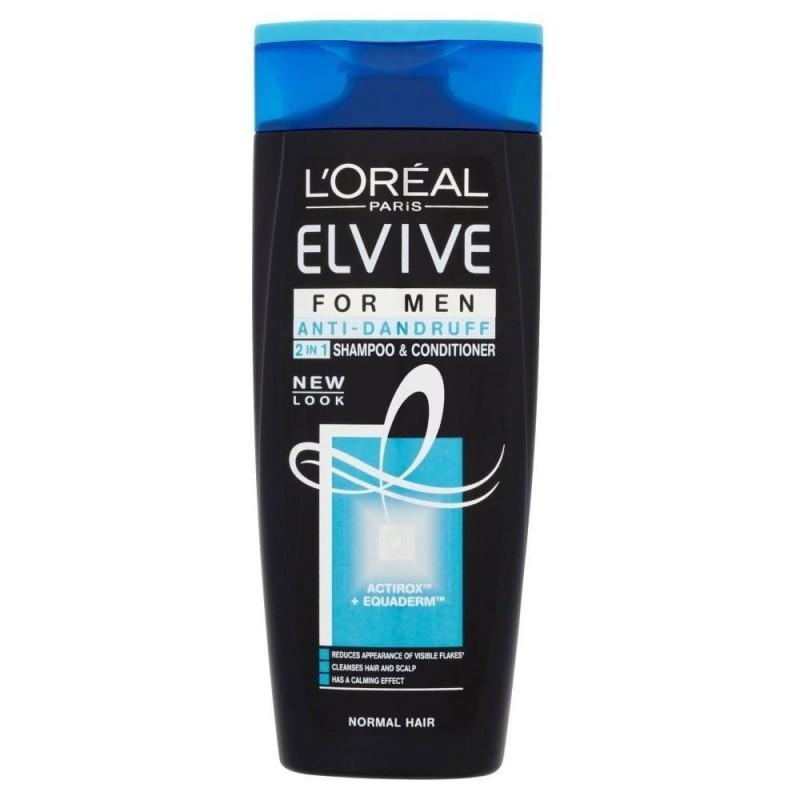 L'Oreal Elvive Men Anti-Dandruff 2in1 Shampoo