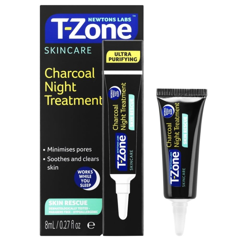 T-Zone Charcoal Night Treatment