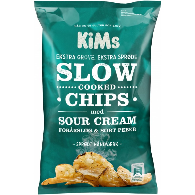 Kims Slow Cooked Sour Cream Chips