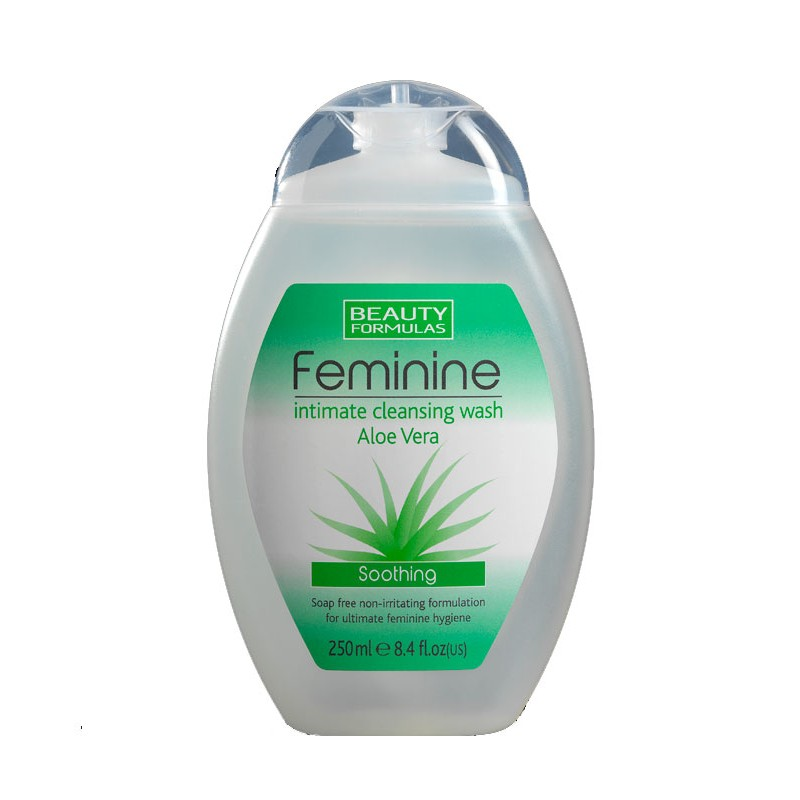 Beauty Formulas Feminine Intimate Aloe Vera Wash
