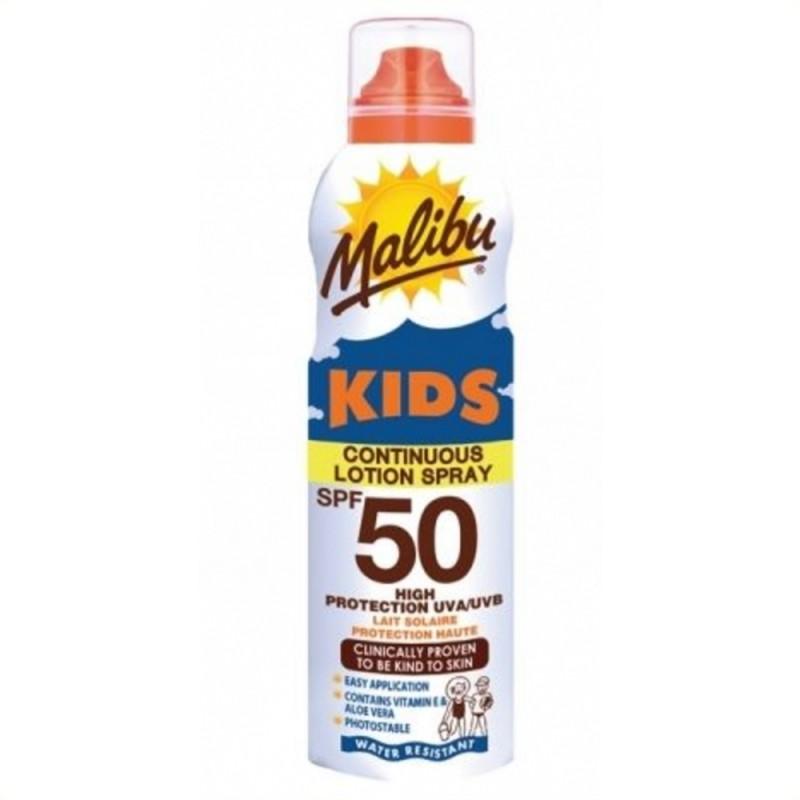 Malibu High Protection Kids Lotion Spray SPF50