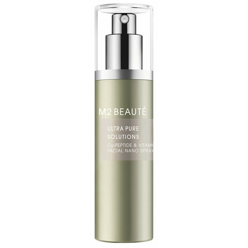 M2 Beauté Ultra Pure Solutions Cu-Peptide & Vitamin B Facial Nano Spray