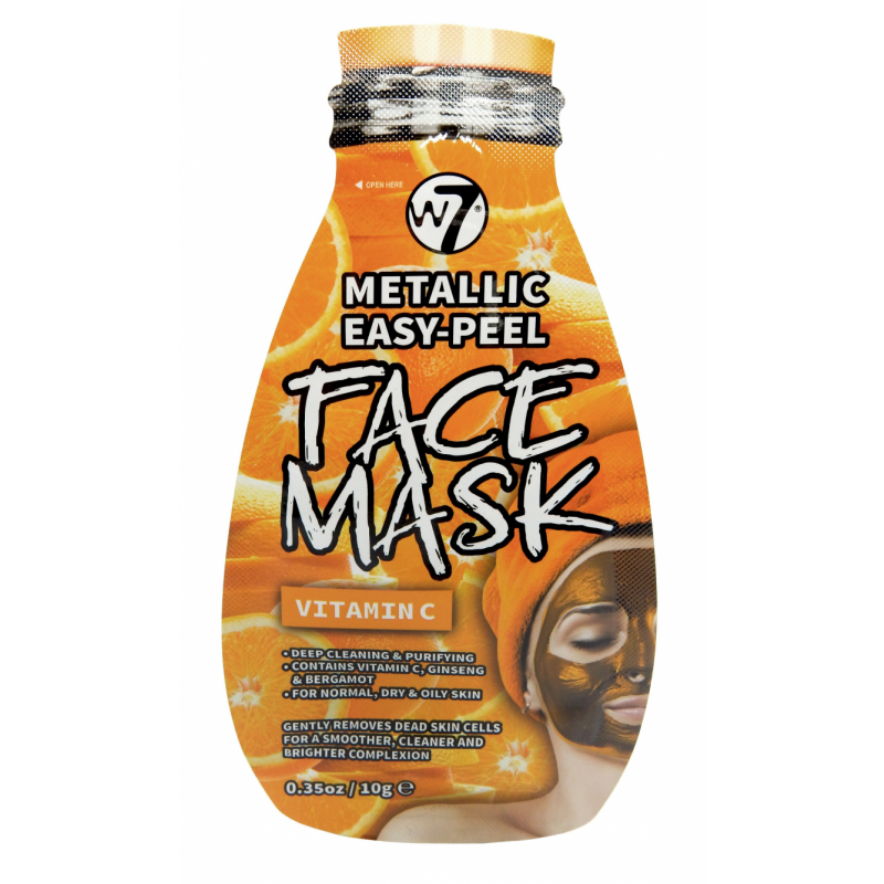 W7 Metallic Easy Peel Vitamin C Face Mask