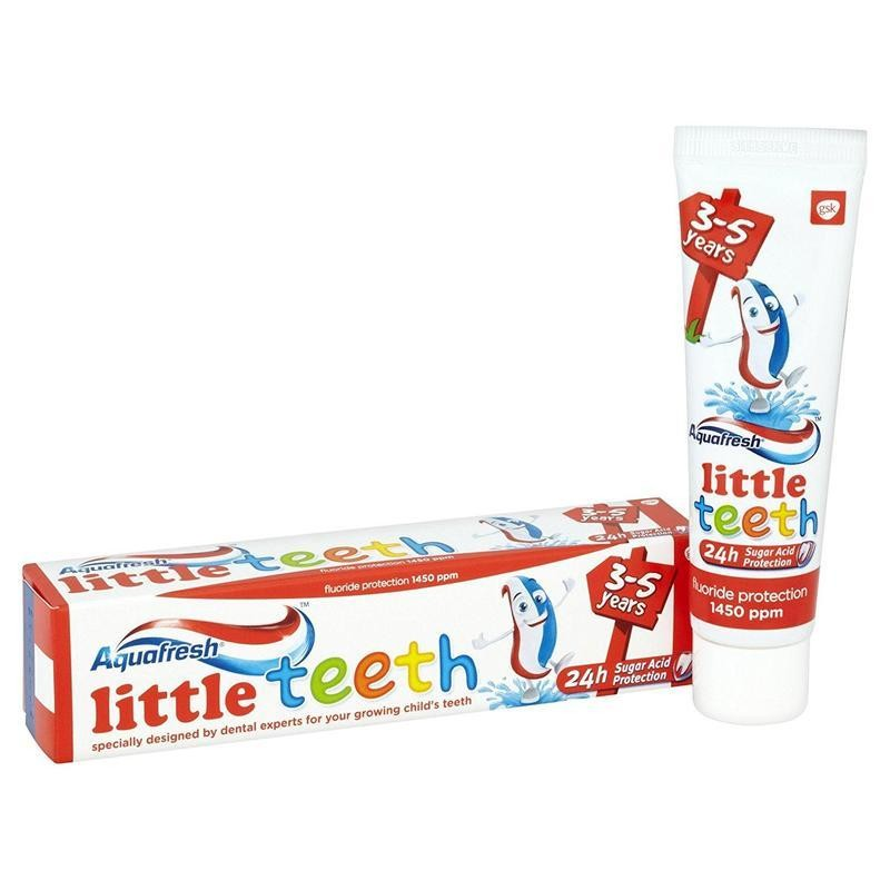 Aquafresh Little Teeth 3-5 vuotiaille