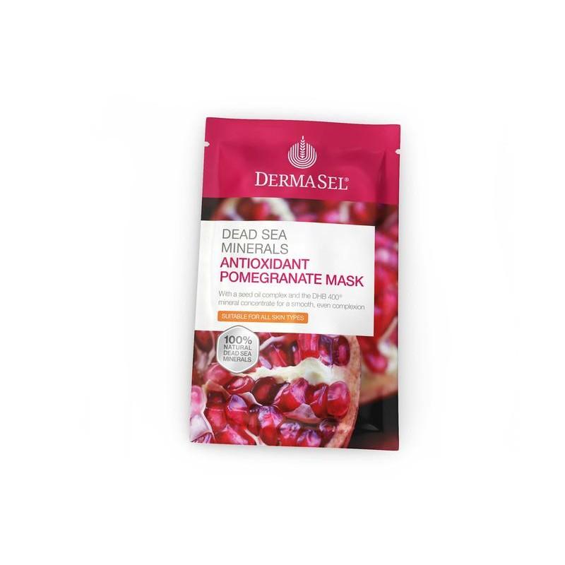 DermaSel Antioxidant Pomegranate Mask