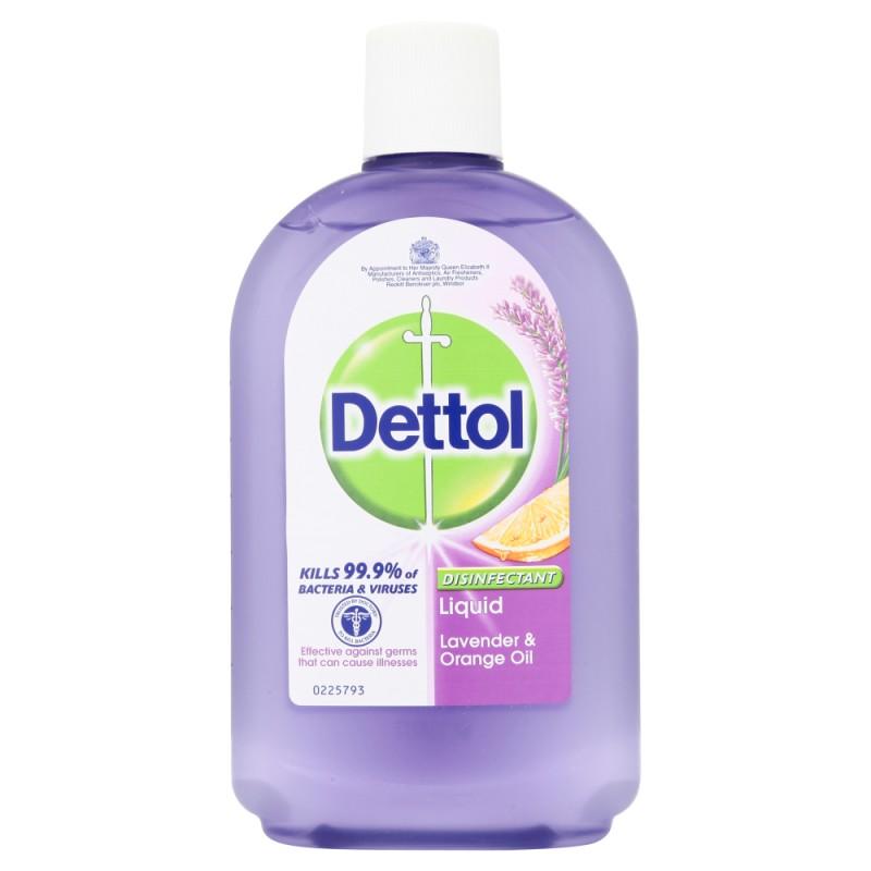 Dettol Antiseptic Disinfectant Liquid Lavender & Orange