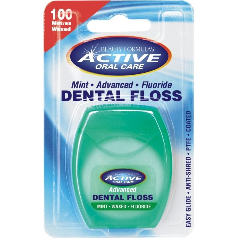 Active Oral Care Advanced Mint Fluoride Dental Floss
