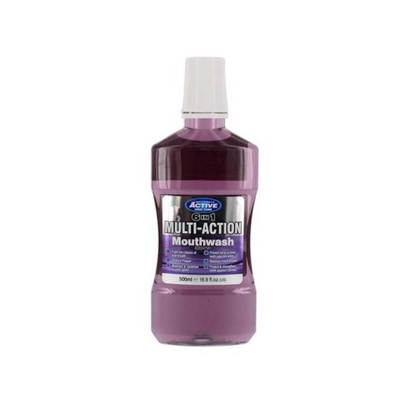 Active Oral Care 6in1 Multi-Action Mouthwash