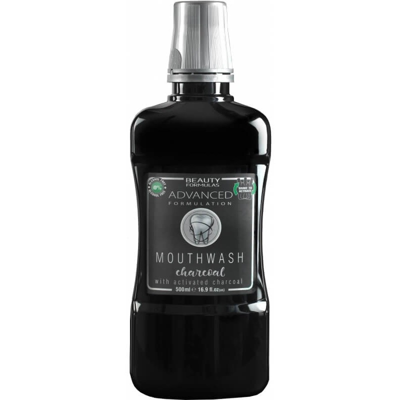 Beauty Formulas Charcoal Mouthwash