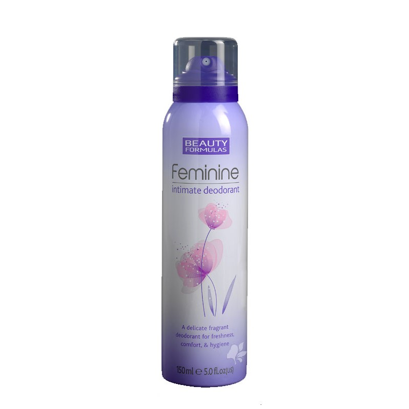 Beauty Formulas Feminine Intimate Deospray