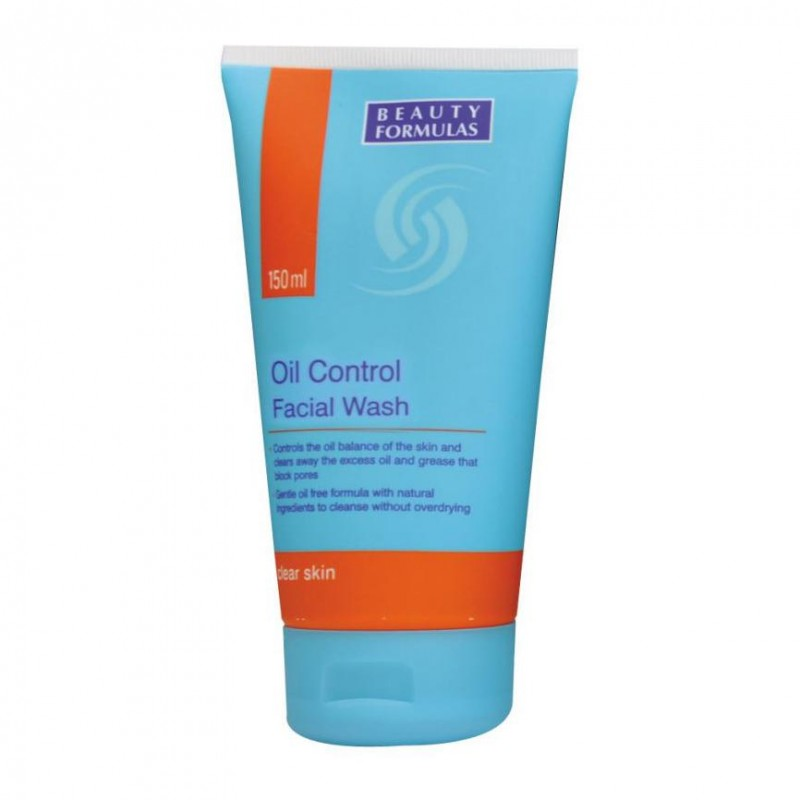 Beauty Formulas Oil Control Facial Wash