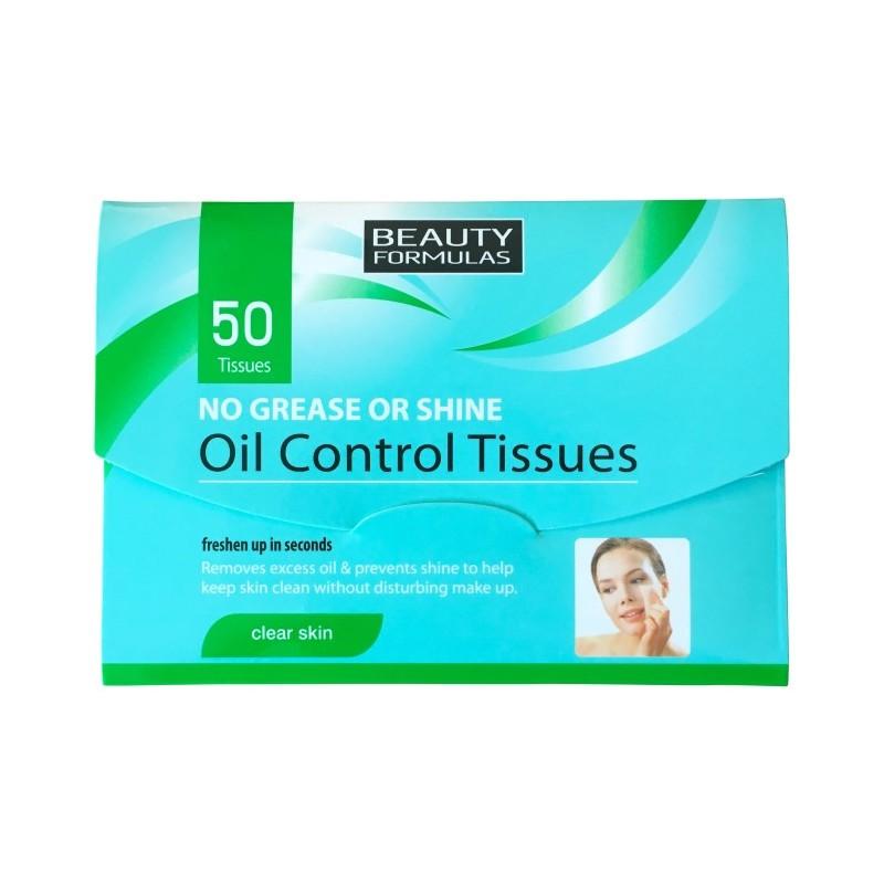 Beauty Formulas Oil Control Tissues