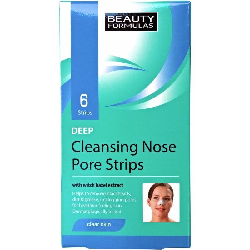Beauty Formulas Deep Cleansing Nose Pore Strips