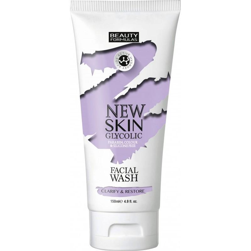 Beauty Formulas Skin Glycolic Facial Wash