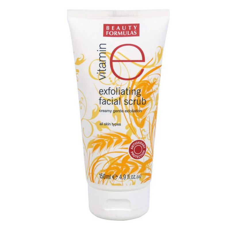Beauty Formulas Vitamin E Exfoliating Facial Scrub