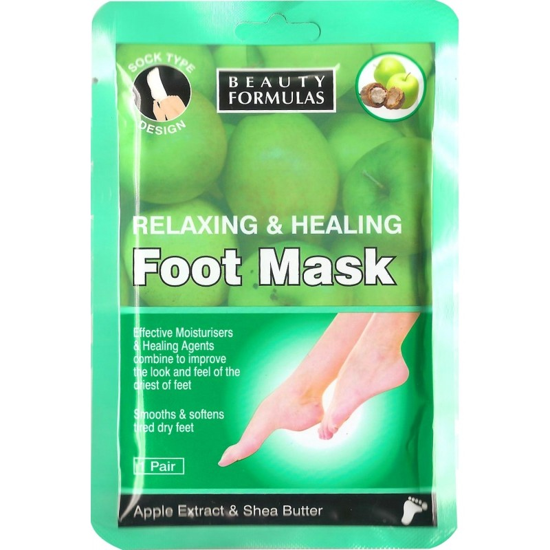 Beauty Formulas Relaxing Foot Mask