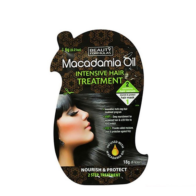 Beauty Formulas Macadamia Oil Hair Treatment