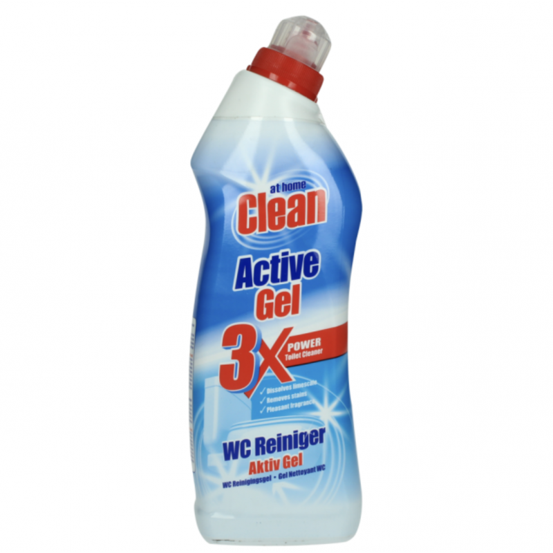 At Home Clean Active Gel Toilet Cleaner Ocean