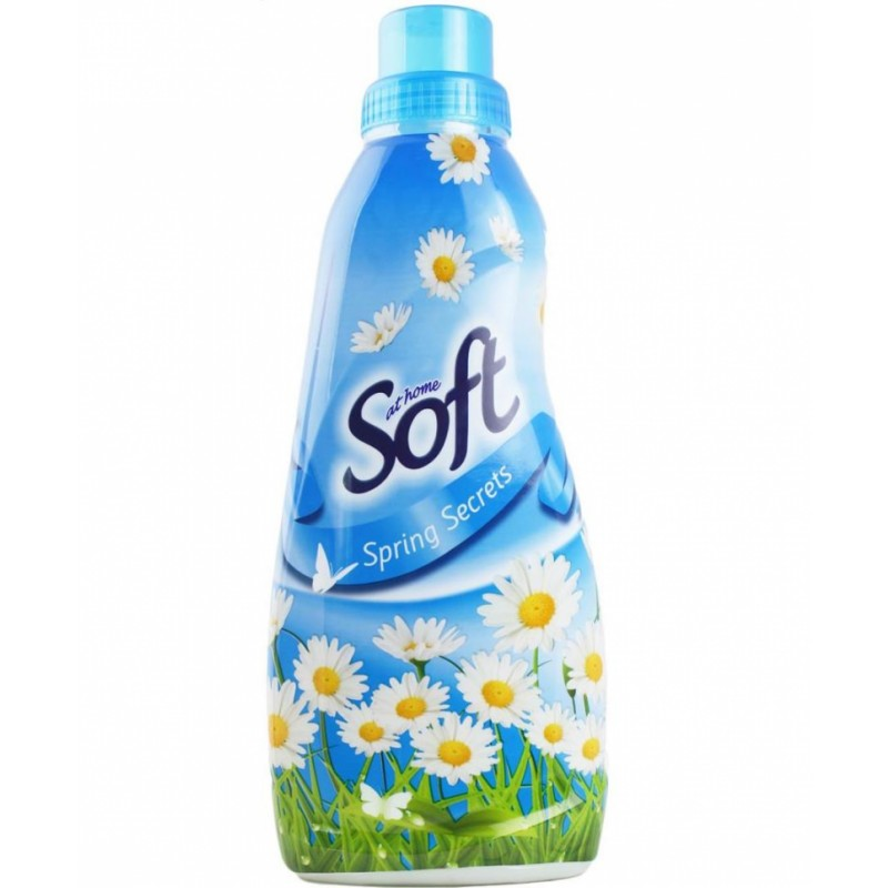 At Home Soft Fabric Softener Spring Secrets