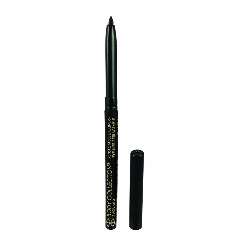 Body Collection Retractable Eyeliner Black
