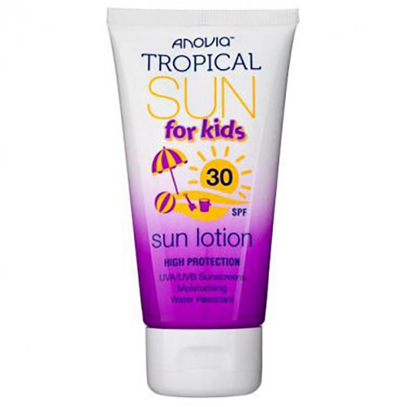 Anovia Kids Tropical Sun Lotion SPF30