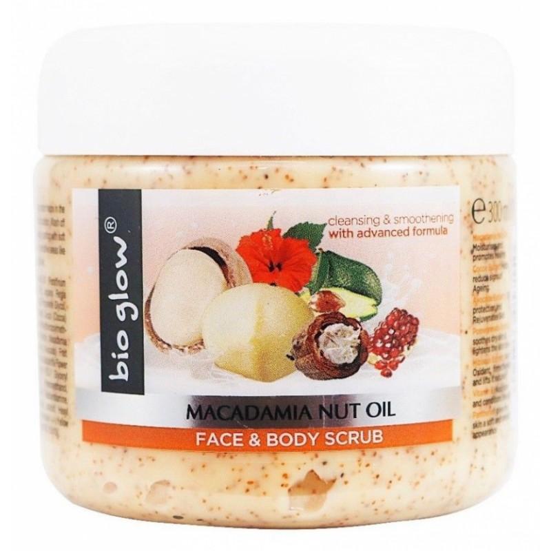 Bio Glow Macadamia Nut Face & Body Scrub
