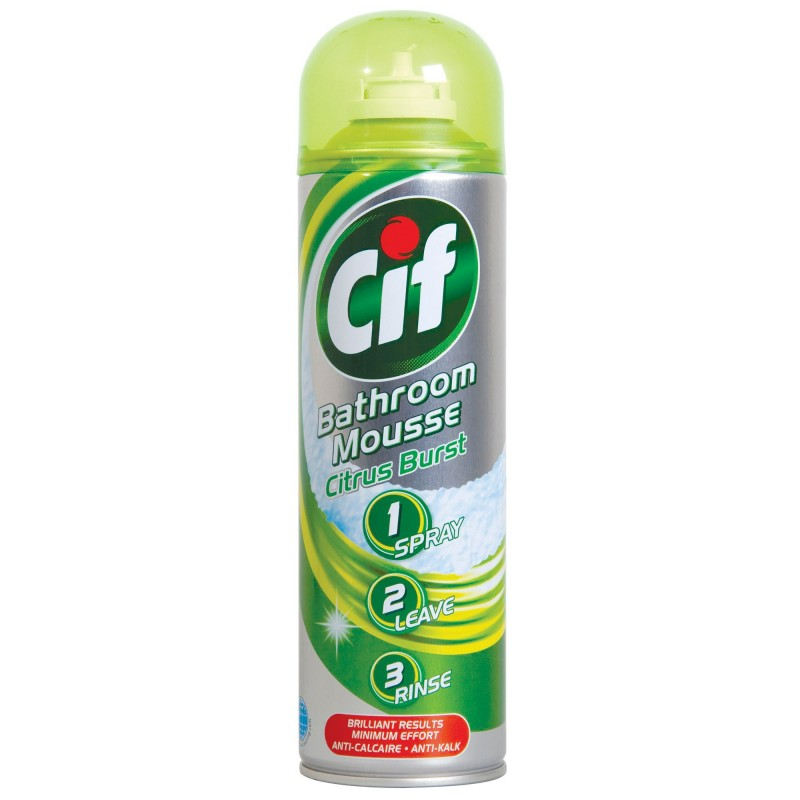 Cif Bathroom Mousse Citrus Burst