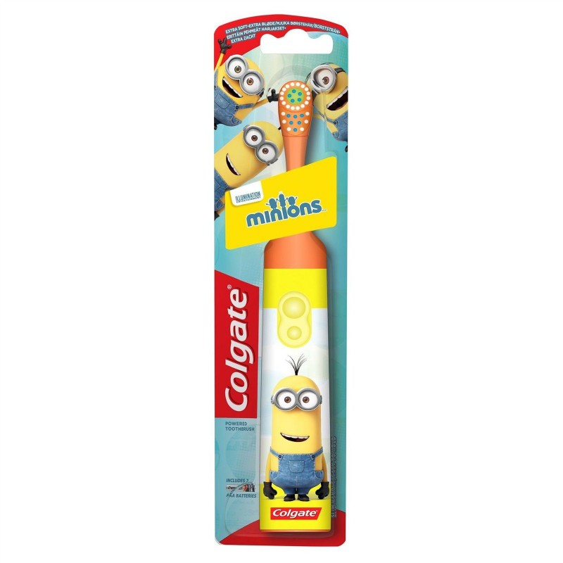 Colgate Battery Minions Toothbrush Extra Soft