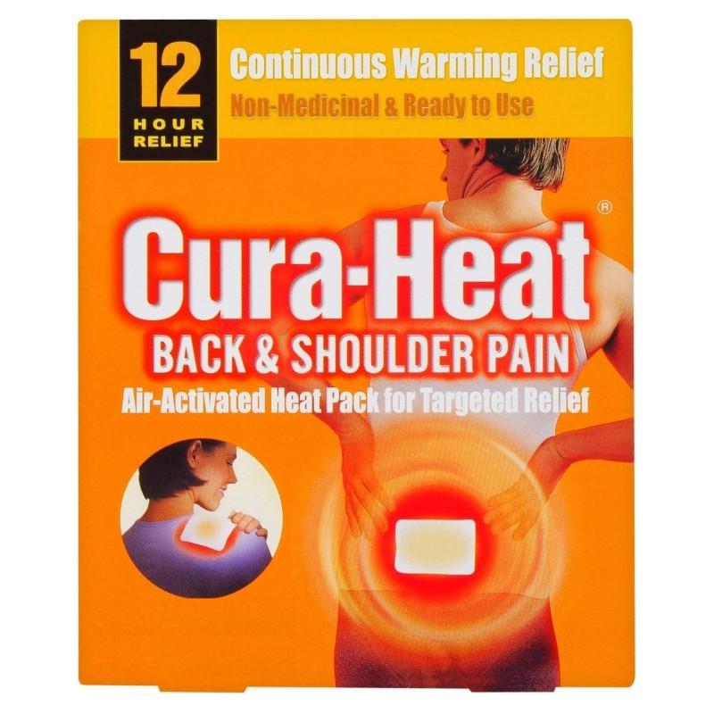 Cura-Heat Back & Shoulder Pain Relief