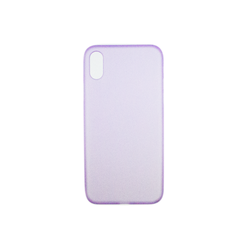 BasicsMobile iPhone X Back Cover Purple