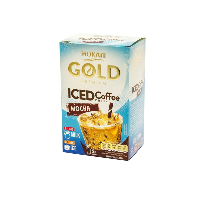 Mokate Gold Premium Iced Coffee Mocha