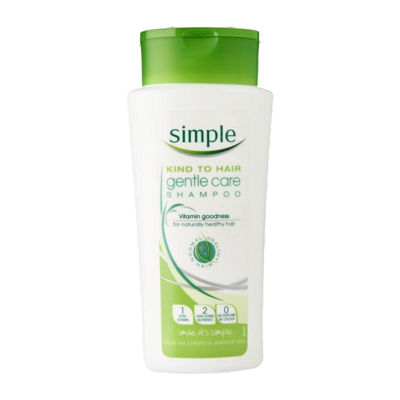 Simple Gentle Care Shampoo