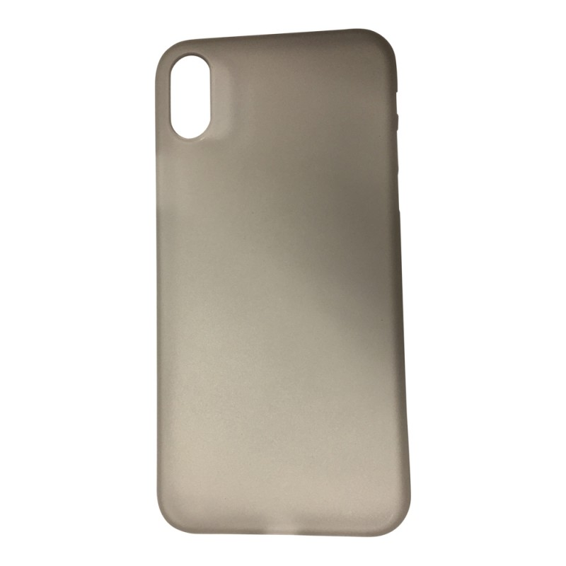 BasicsMobile iPhone X Back Cover Grey