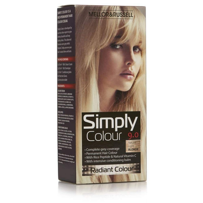 Mellor & Russell Simply Colour 9.0 Natural Light Blonde