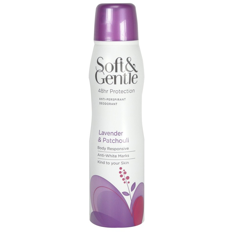 Soft & Gentle Lavender & Patchouli Deospray