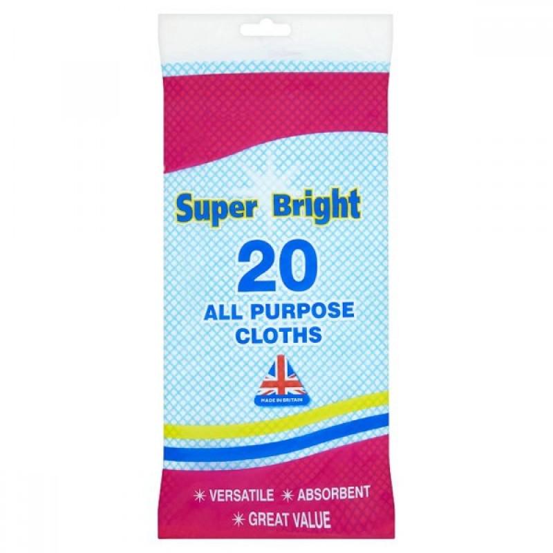 Super Bright Yleiskäyttöiset puhdistusliinat