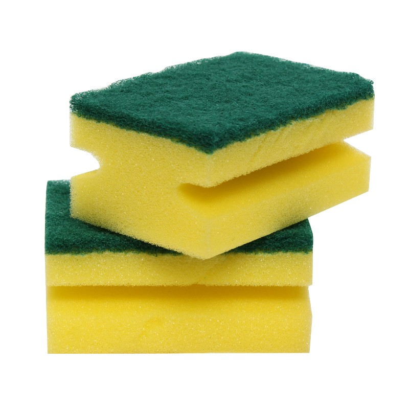 Super Bright Hand-Grip Sponge Scourers
