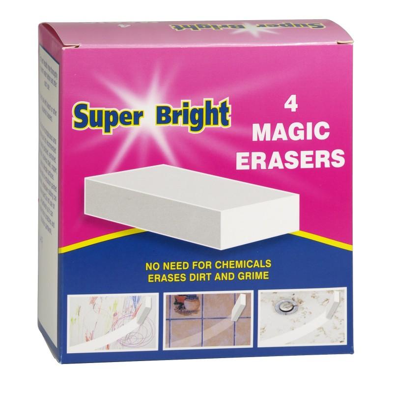 Super Bright Magic Erasers