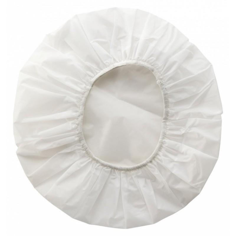 Athena White Shower Caps